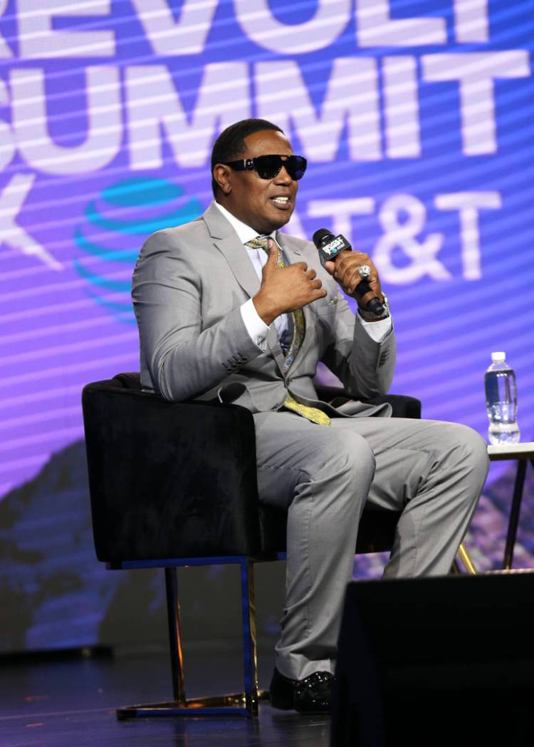 Master P speaks onstage at the REVOLT X AT&T 3-Day Summit In Los Angeles - Day 2