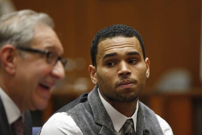 Chris Brown 32nd Birthday 400 Guest House Party Broke Up LAPD