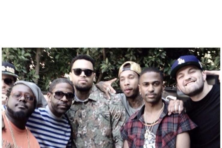 Chris Brown Welcomed Home With Surprise Party