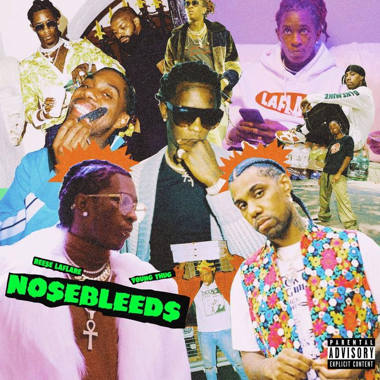 Reese LAFLARE ft Young Thug - Nosebleeds