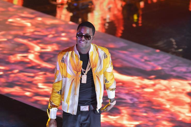 Meek Mill perform at BET's Rip The Runway 2013:Show at Hammerstein Ballroom on February 27, 2013 in New York City