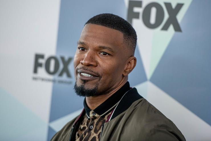 Jamie Foxx attends the 2018 Fox Network Upfront at Wollman Rink, Central Park on May 14, 2018 in New York City.