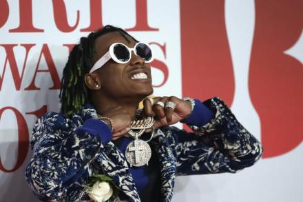 Rich the Kid attends The BRIT Awards 2018 held at The O2 Arena on February 21, 2018 in London, England.