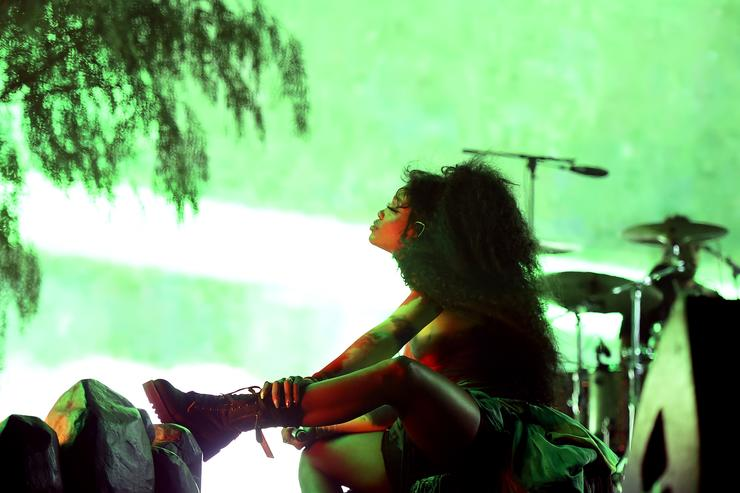 83bc20507d3 SZA performs onstage during the 2018 Coachella Valley Music And Arts  Festival at the Empire Polo