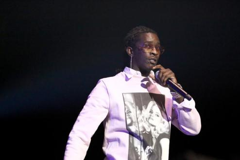 Image result for Young Thug Turns Himself In On 8 Felony Drug Case