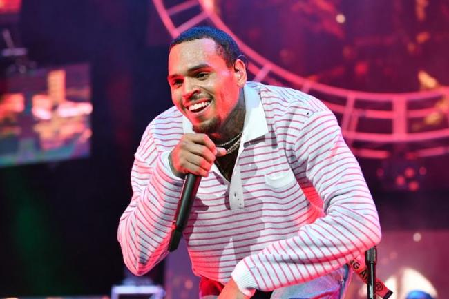 Chris Brown performs at 2018 BET Experience Staples Center Concert, sponsored by COCA-COLA, at L.A. Live on June 22, 2018 in Los Angeles, California