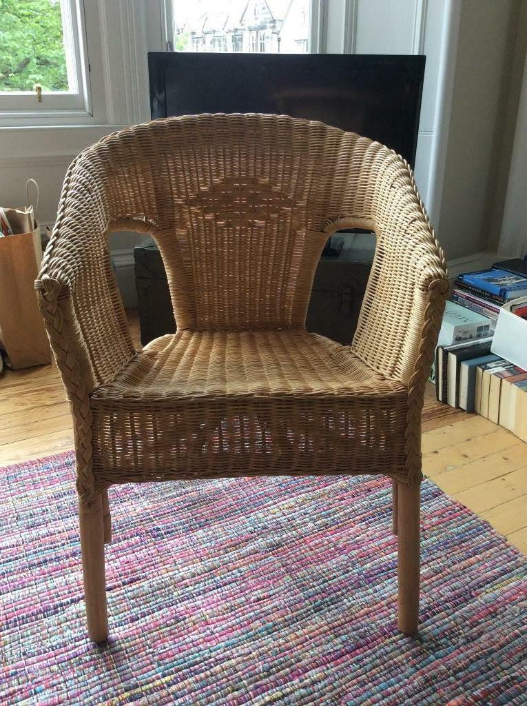 IKEA Agen rattan chair United Kingdom Gumtree