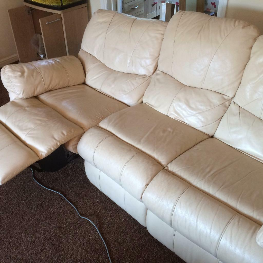 lazy boy chairs for sale revolving chair gem two reclining couch setees matching 3 seater and