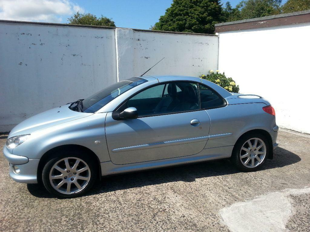 "2006 Peugeot 206 Convertible for sale ""12 months mot"