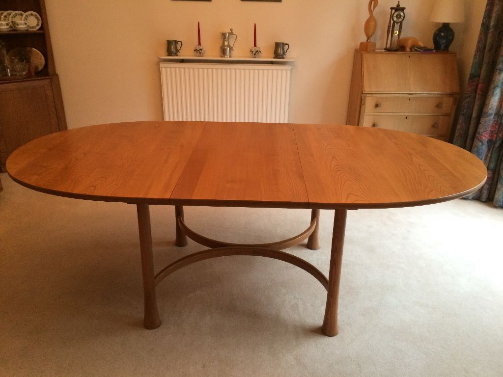 dining room table and chairs gumtree baby recliner chair ercol saville extending to sit up 8