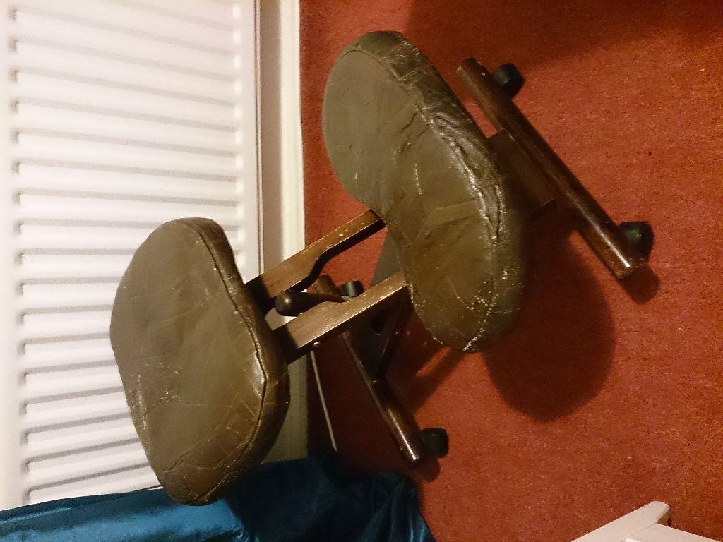 posture chair gumtree herman aeron review ergonomic kneeling promoting good leather