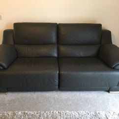 Grey Leather Sofas Harveys How To Make A Sofa Bed More Firm 3 Buy Sale And Trade Ads Find The Right Price