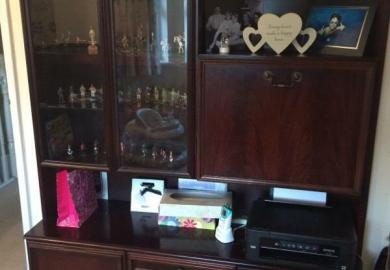 Bookcase With Glass Doors Stuff For Sale Gumtree
