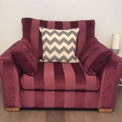 Purple Cuddle Chair Material Dining Chairs Uk Contact Kara