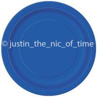 Plain Paper Plates & Sc 1 St Party Click