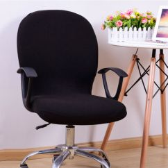 Office Chair Covers Ebay Quality Computer Chairs Cover Spandex Stretch Swivel Rotate Seat Picture 12 Of