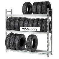 Heavy Duty Tire Rack 3 Tier Starter 96x18x72 | eBay