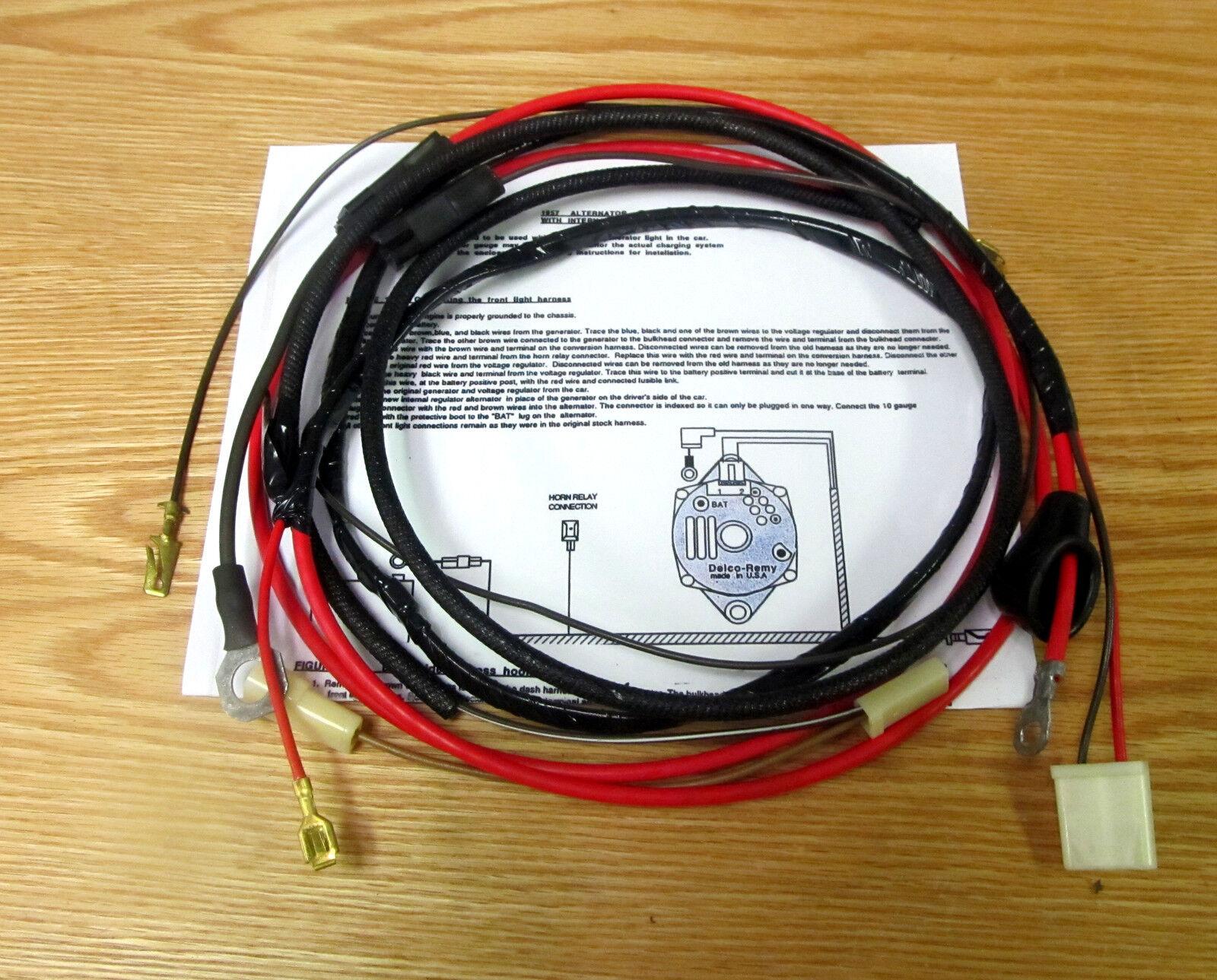 hight resolution of 57 chevy wiring harness ebay