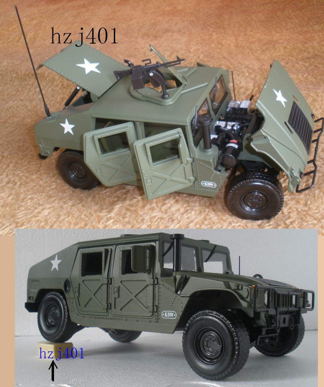 1 18 Hummer Diecast Military Army Battlefield Vehicle Model Cars
