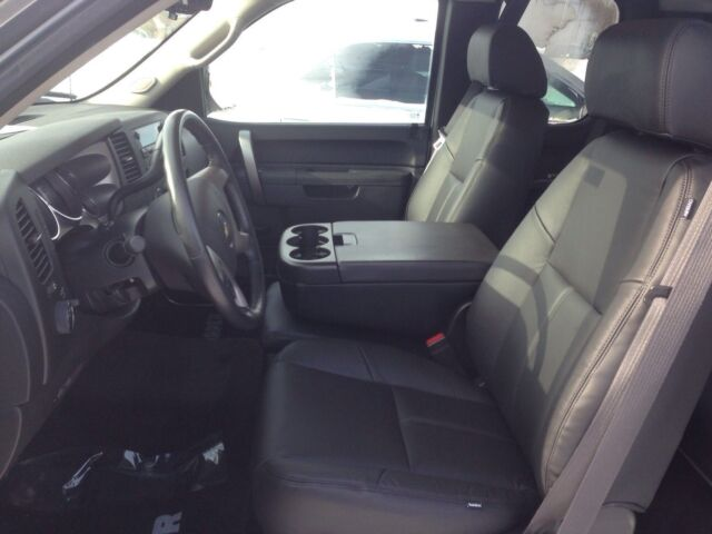 2012 Chevrolet Silverado Crew Cab Black Katzkin Leather