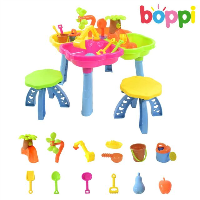 Childrens Kids Sand and Water Activity Table Outdoor