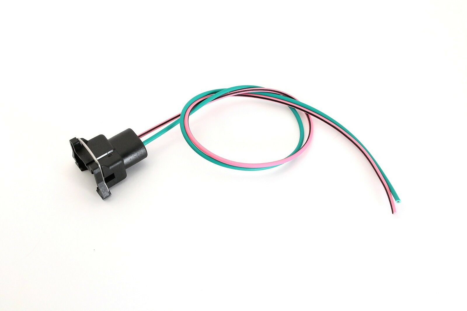 hight resolution of tpi fuel injector pigtail connector wiring 85 92 camaro firebird corvette green