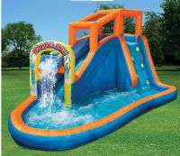 Inflatable Water Slide Pool Bounce House Commercial