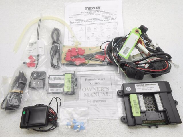 New Oem 20072011 Mazda Cx7 Cx7 Cx 7 Remote Start Kit Ebay