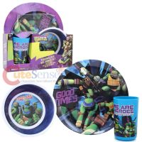 Ninja Turtle Plate Set & Nickelodeon Teenage Mutant Ninja ...