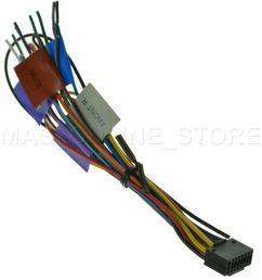 s l1600 kenwood kdc x792 kdcx792 oem genuine wire harness ebay kenwood kdc mp642u wiring [ 1438 x 1600 Pixel ]