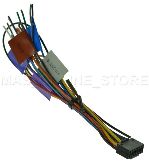 small resolution of  s l1600 kenwood kdc x792 kdcx792 oem genuine wire harness ebay kenwood kdc mp642u wiring