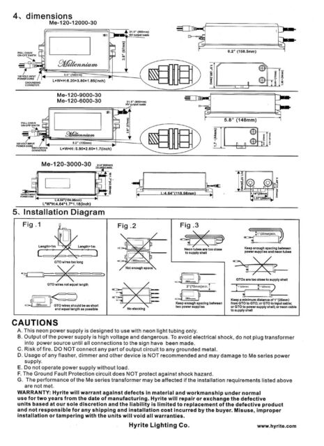 Jefferson Electric Neon Sign Transformer Wiring Diagram