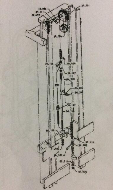 Fork Lift Hydraulic Diagram