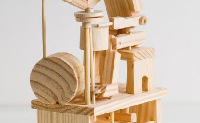 Timberkits Drummer Model Kit Mechanical Wooden Self