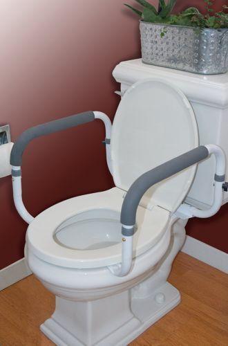 Carex Health Brands B36800 Toilet Support Rail  eBay