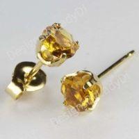 Yellow Topaz Earrings | www.pixshark.com - Images ...