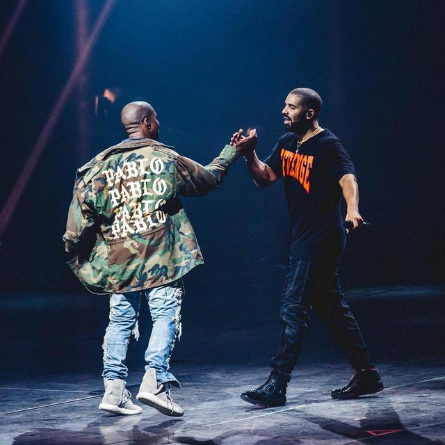 Image result for Kanye and dRAKE tOGETHER