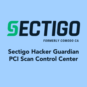 Sectigo HackerGuardian PCI Scan Control Center