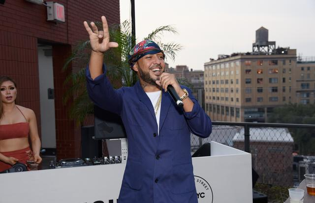 French Montana at Samsung Summer event