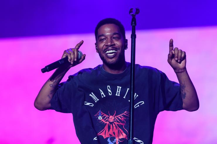 Kid Cudi performs during day three of Rolling Loud at Hard Rock Stadium on May 12, 2019 in Miami Gardens, FL