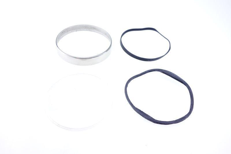 Vespa PX Lusso LML Tacho Glas Chrom Ring Reparatur Set