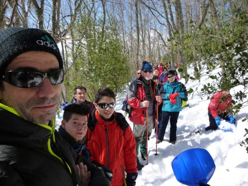 Salida familias a la nieve 2016
