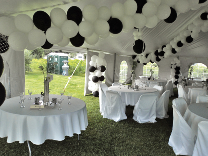 chair cover rentals fredericton best for baby nursery tents rental find in nb m r tent