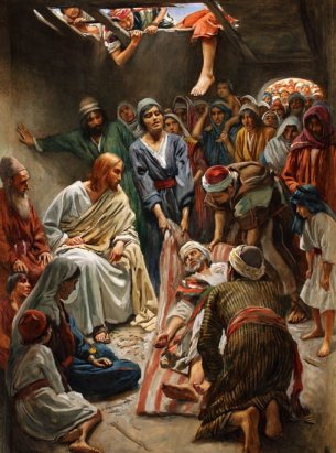 Jesus and the Paralytic