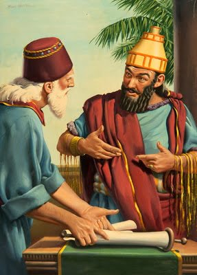 Daniel Shows Cyrus Information on Scroll