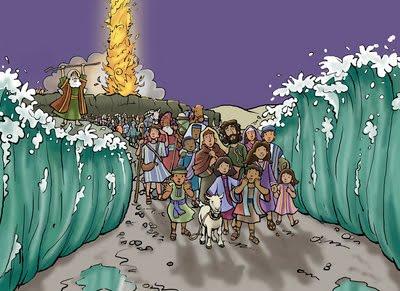 Israelites Crossing the Red Sea