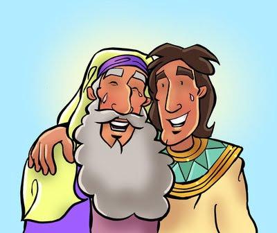 Jacob and Joseph Reunion