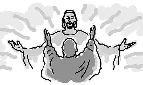 Man Praising Jesus