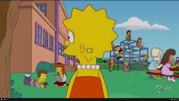 millones amigos 1024x575 Los Simpson y las redes sociales desde una perspectiva sociológica