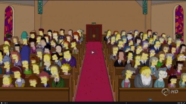 reverando 1024x572 Los Simpson y las redes sociales desde una perspectiva sociológica